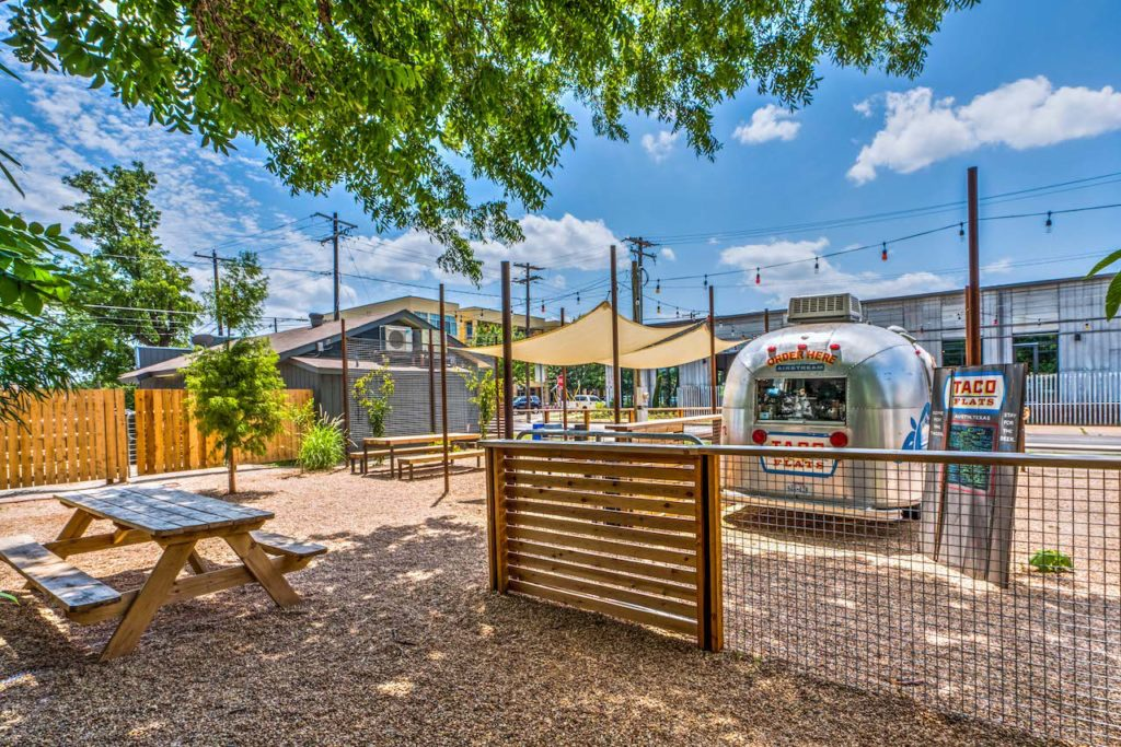 La Holly Cantina - Austin, TX - Taco Flats Airstream with Store in the Back